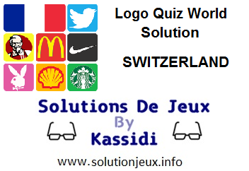 Logo Quiz world Switzerland all levels