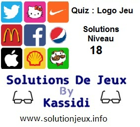 Quiz Logo Jeu Niveau 18 Solutions