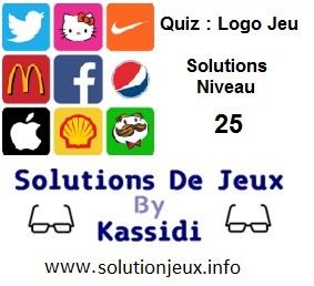 Quiz Logo Jeu Niveau 25 Solutions