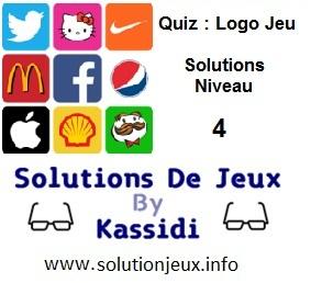 Quiz Logo Jeu Niveau 4 Solutions