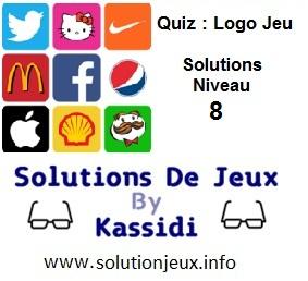 Quiz Logo Jeu Niveau 8 Solutions