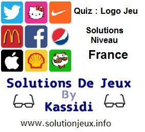 Quiz Logo Jeu Niveau France Solutions