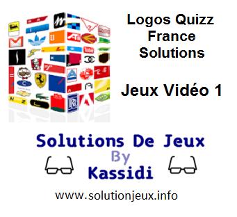 Solution Logos Quizz France Série Jeux Vidéo1