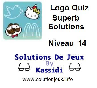 Solutions Logo Quiz Superb Niveau 14