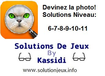devinez la photo solutions niveau 6-7-8-9-10-11