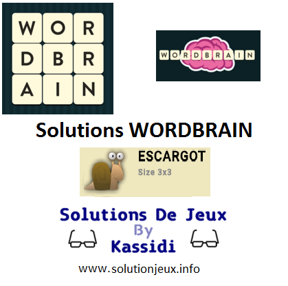 wordbrain escargot solutions